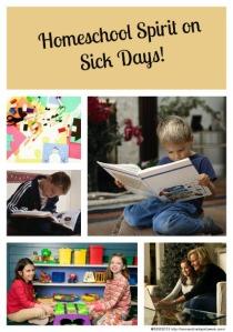 Homeschool Spirit on Sick Days